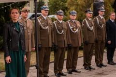 Ślubowanie uczniów  klas wojskowych cz.2