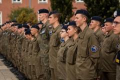 Ślubowanie uczniów  klas wojskowych cz.1