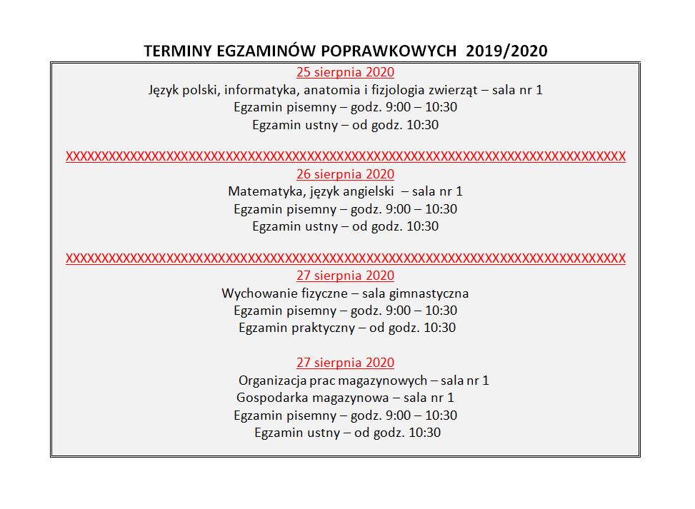 terminy – poprawkowe1